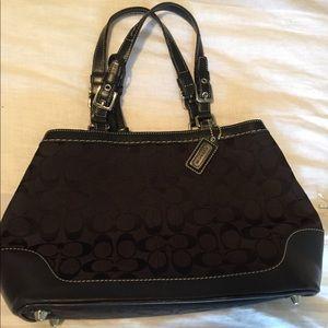 like new COACH black purse
